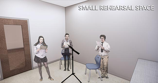 Small Rehearsal Space